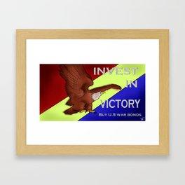 'MERICA Framed Art Print