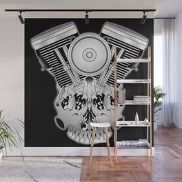 Motor Mind Wall Mural