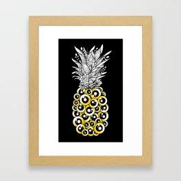 Tropical Illusion Framed Art Print