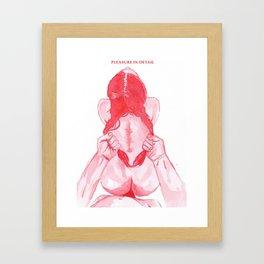 Harder Framed Art Print