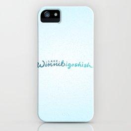Lake Winnibigoshish iPhone Case