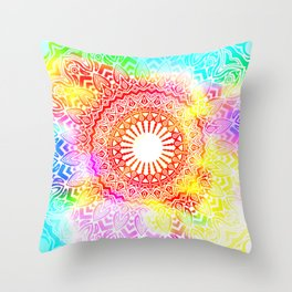 Slipping In Throw Pillow