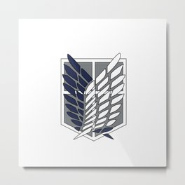 Survey Corps  Metal Print