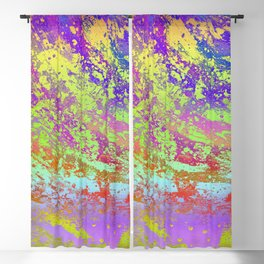 Psychedelic Blackout Curtain