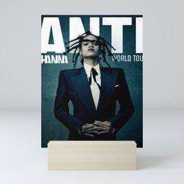 RIHANNA ANTI WORLD TOUR DATES 2019 MELATI Mini Art Print
