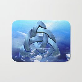 Sacred Geometry - Trinity 09 Bath Mat