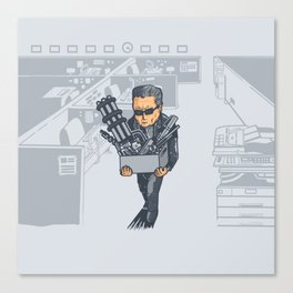 The Terminated Canvas Print