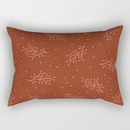 Oriental ,Old ,Watercolor Rectangular Pillow