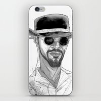 django iPhone & iPod Skins featuring Django by Andy Christofi