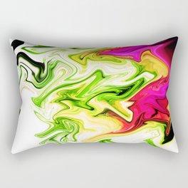 Sweeper Abstract Rectangular Pillow