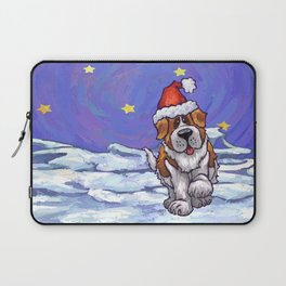 St. Bernard Christmas Laptop Sleeve