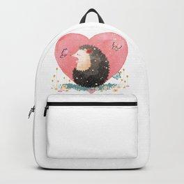 Heart Of Hedgehog Backpack
