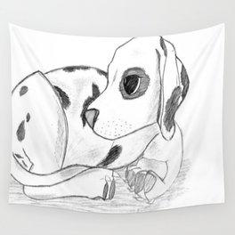 Dalmatian pup Wall Tapestry