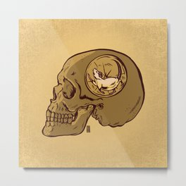 Thought Process Metal Print