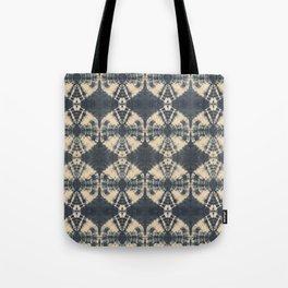 Circle Shibori Tote Bag