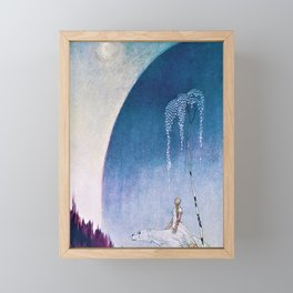 Kay Nielsen - White Bear Taking Her Daughter To The Palace - Digital Remastered Edition Framed Mini Art Print