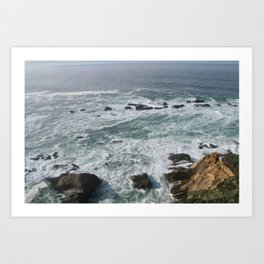 Northern California Art Print