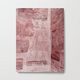In Pink Egypt Metal Print