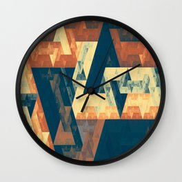 abstract oblivion Wall Clock