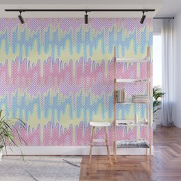 Melty Patterned Slime Wall Mural