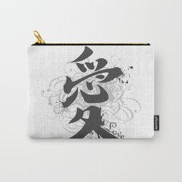 """Hieroglyph """"Love"""" Carry-All Pouch"""