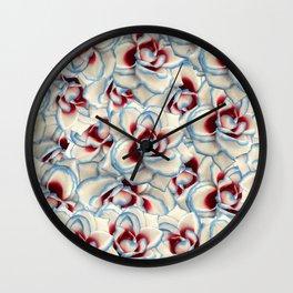 Papaya Whip Wall Clock