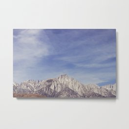 Mt. Whitney Metal Print