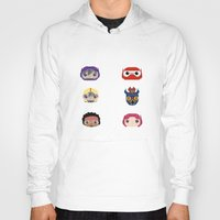 big hero 6 Hoodies featuring Big Hero 6 by Alison V.