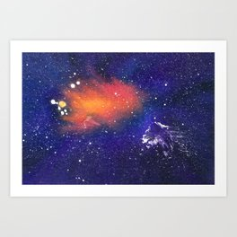 Ether Art Print