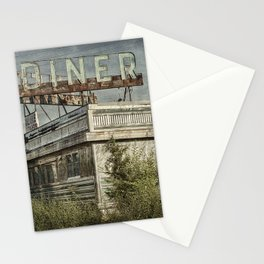 Abandoned Diner 2 Stationery Cards