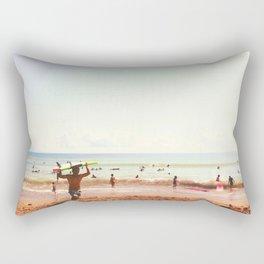 Hot Surf Rectangular Pillow