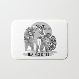 Bear Necessities #1 Bearly Secret Bath Mat