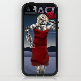 Galactic Cover Girl iPhone Case