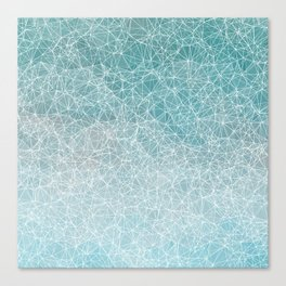 Polygonal A3 Canvas Print