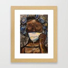 Tea, Darling? Framed Art Print