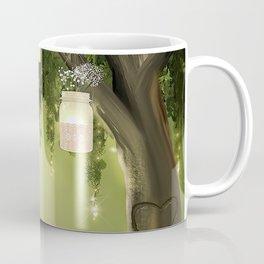 Enchanted Forest Heart Tree Coffee Mug