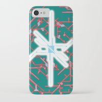 technology iPhone & iPod Cases featuring technology by daniel