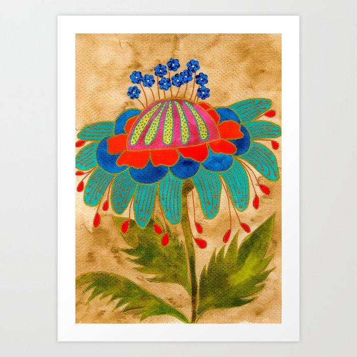 Rusticula Art Print