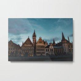 Ghent, Belgium Metal Print