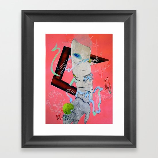 either ether effect Framed Art Print