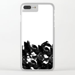 Flock Clear iPhone Case