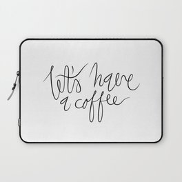 Coffee maniac. Laptop Sleeve