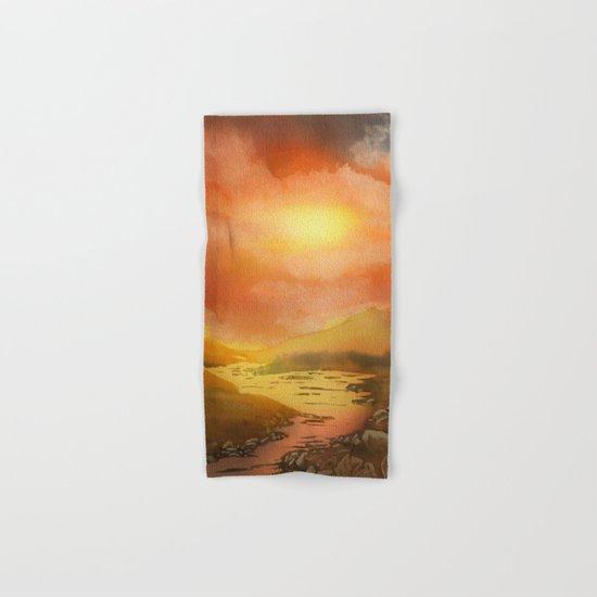 Calling The Sun XIX Hand & Bath Towel