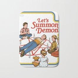 summon demons Bath Mat