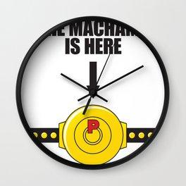 The MACHAMP is HERE! Wall Clock