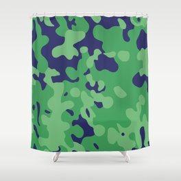 CAMO04 Shower Curtain