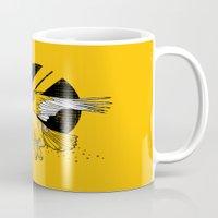 hawk Mugs featuring Hawk by Randyotter