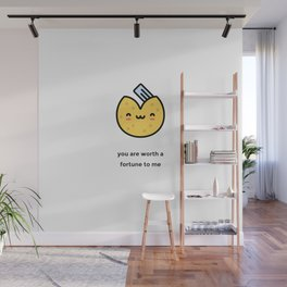 JUST A PUNNY FORTUNE COOKIE JOKE! Wall Mural