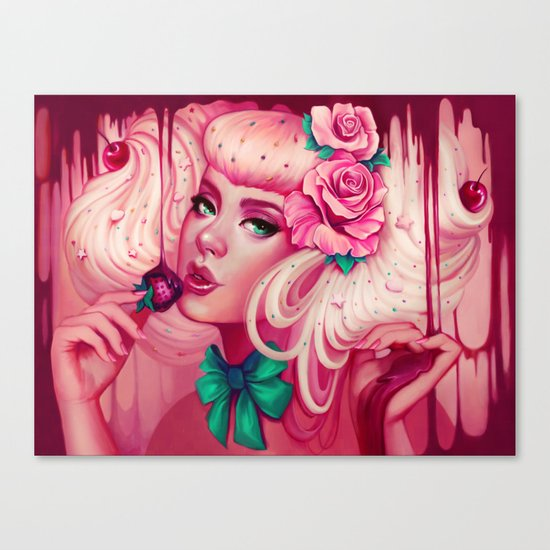 Sweet Release Canvas Print