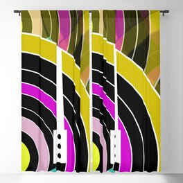 Bright retro records Blackout Curtain